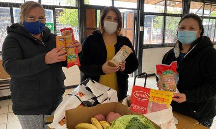 Coordinan entrega de alimentación para estudiantes celiacos de Los Andes