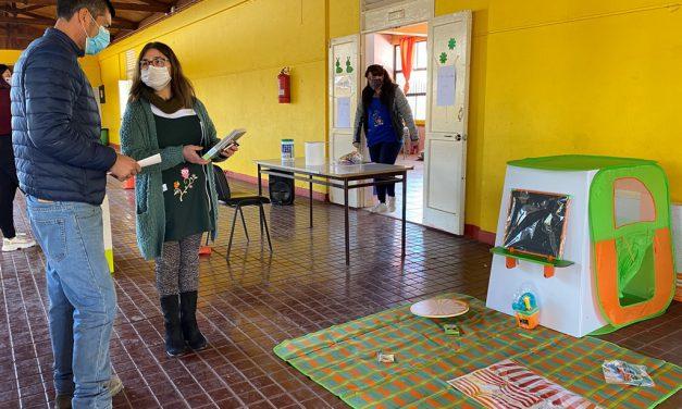 """Pre escolares de Escuela España reciben material didáctico """"RINJU"""" para fomentar el aprendizaje a través del juego"""