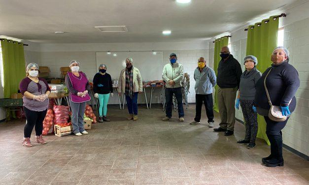 CEIA Dr. Osvaldo Rojas apoya con alimentos a Olla Solidaria de Villa María Paula