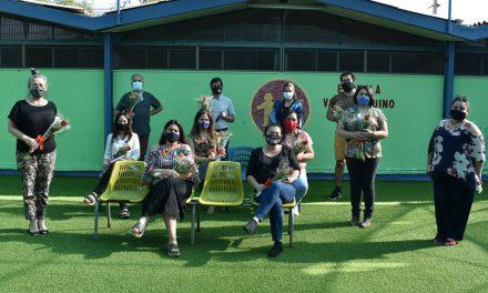 En Escuela Valle Andino celebraron el Día del Profesor