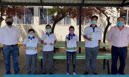 Aun sin clases presenciales, alumnos de Liceo República Argentina llevaron adelante taller de robótica