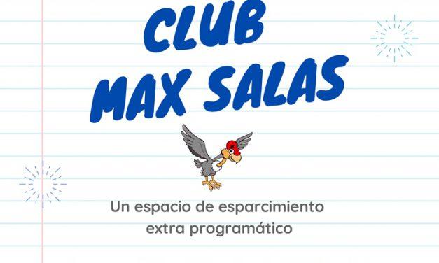 """Nace """"Club Max Salas"""", espacio de esparcimiento virtual para la comunidad educativa"""