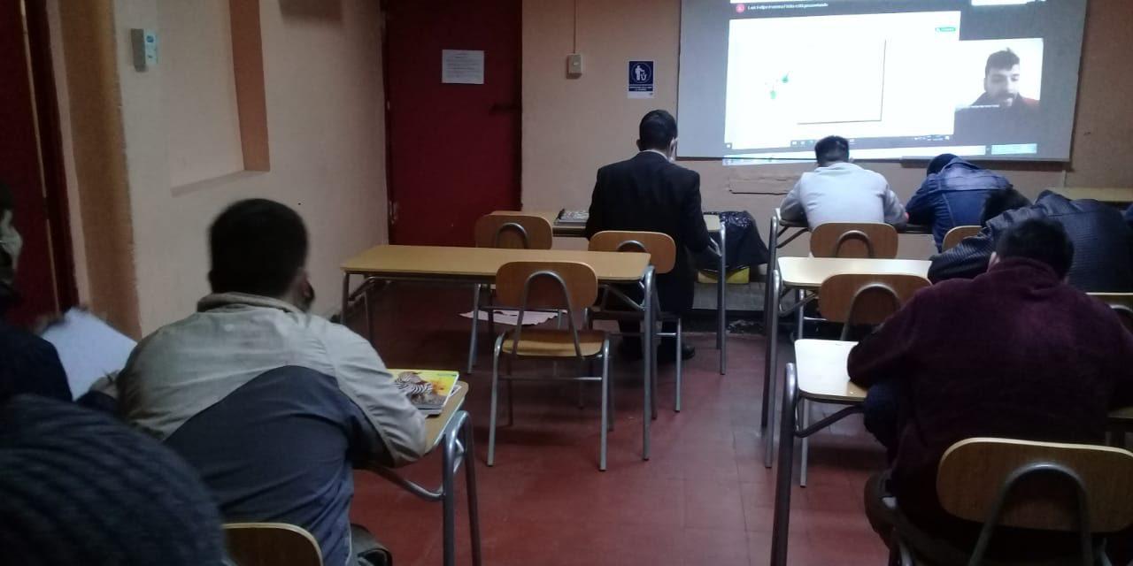CEIA Dr. Osvaldo Rojas logra implementar clases online para internos del Centro de Cumplimiento Penitenciario Los Andes