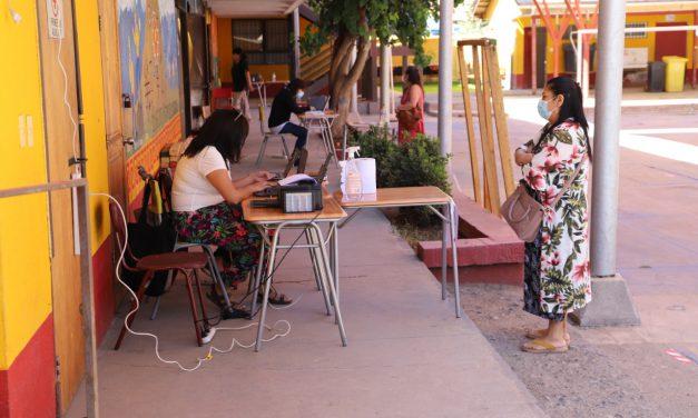 Comienza proceso de admisión escolar en establecimientos municipales de Los Andes