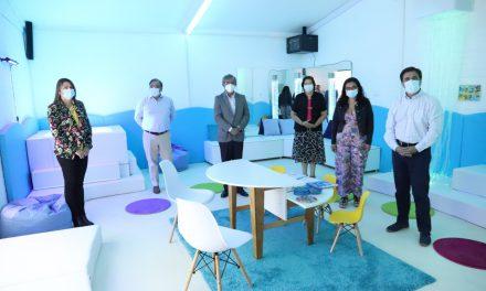 Habilitan segunda Sala de Estimulación Multisensorial para la educación municipal de Los Andes