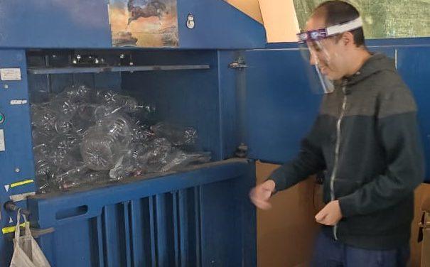 Centro de Reciclaje Gran Esperanza procesa cerca de 7 toneladas semanales de elementos