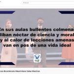 Con sentidos saludos virtuales la comunidad educativa de Liceo Max Salas celebra 117 años de vida