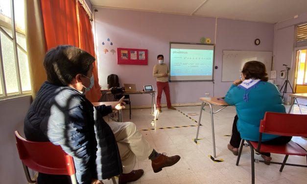 Realizan visita inspectiva para el retorno seguro a establecimientos municipales de Los Andes