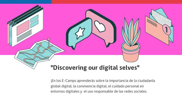Estudiantes de Escuela España son parte del English Winter E-Camps del MINEDUC