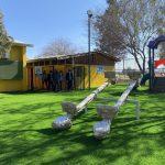 Escuela José Miguel Carrera recupera patio de juegos para los más pequeñitos del establecimiento