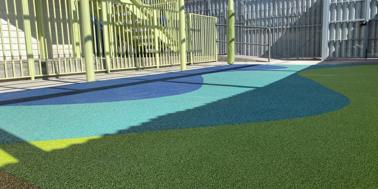 Avanzan mejoramientos de infraestructura en jardines infantiles de Los Andes