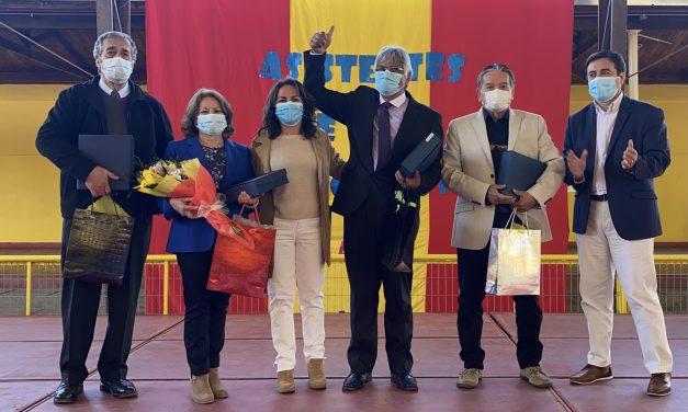 Emotiva ceremonia de reconocimiento a Asistentes de la Educación de Los Andes que se acogieron a retiro